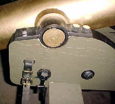 Mountain Howitzer old Carriage Cheek Bands