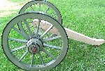 Mountain Howitzer Wheels and Trail